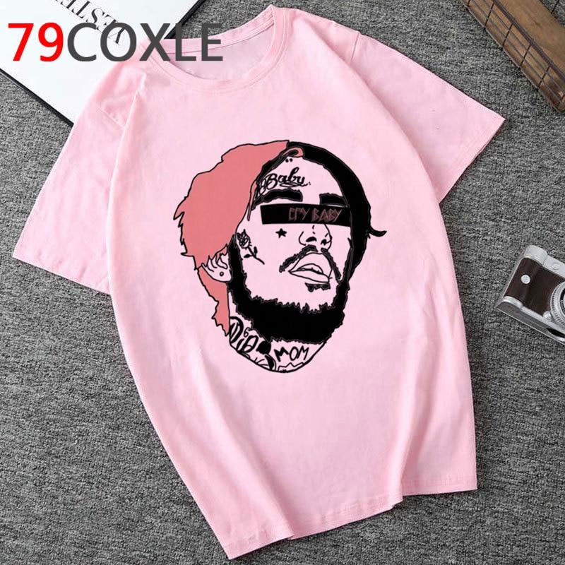 Lil Peep Print T Shirt