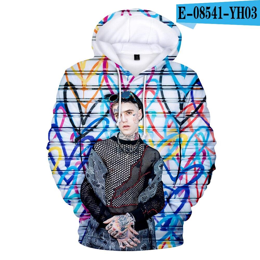 Lil Peep 3D Print Sweatshirts Hoodies