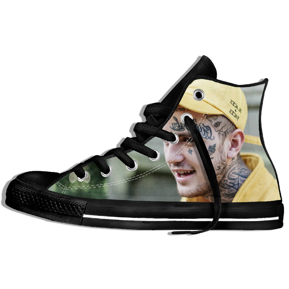 Lil Peep Custom Image Printing Sneakers