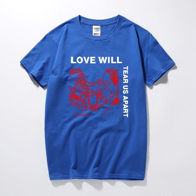 Lil Peep Love Will Tear Us Apart T shirt