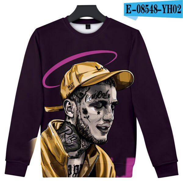 Lil Peep Hat Printed Streetwear Sweatshirt