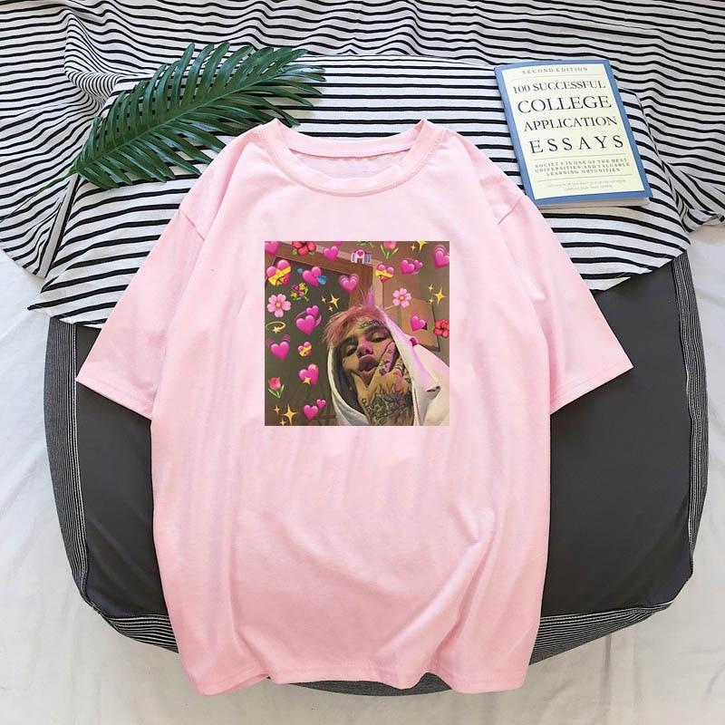 Lil Peep Love printing T Shirt