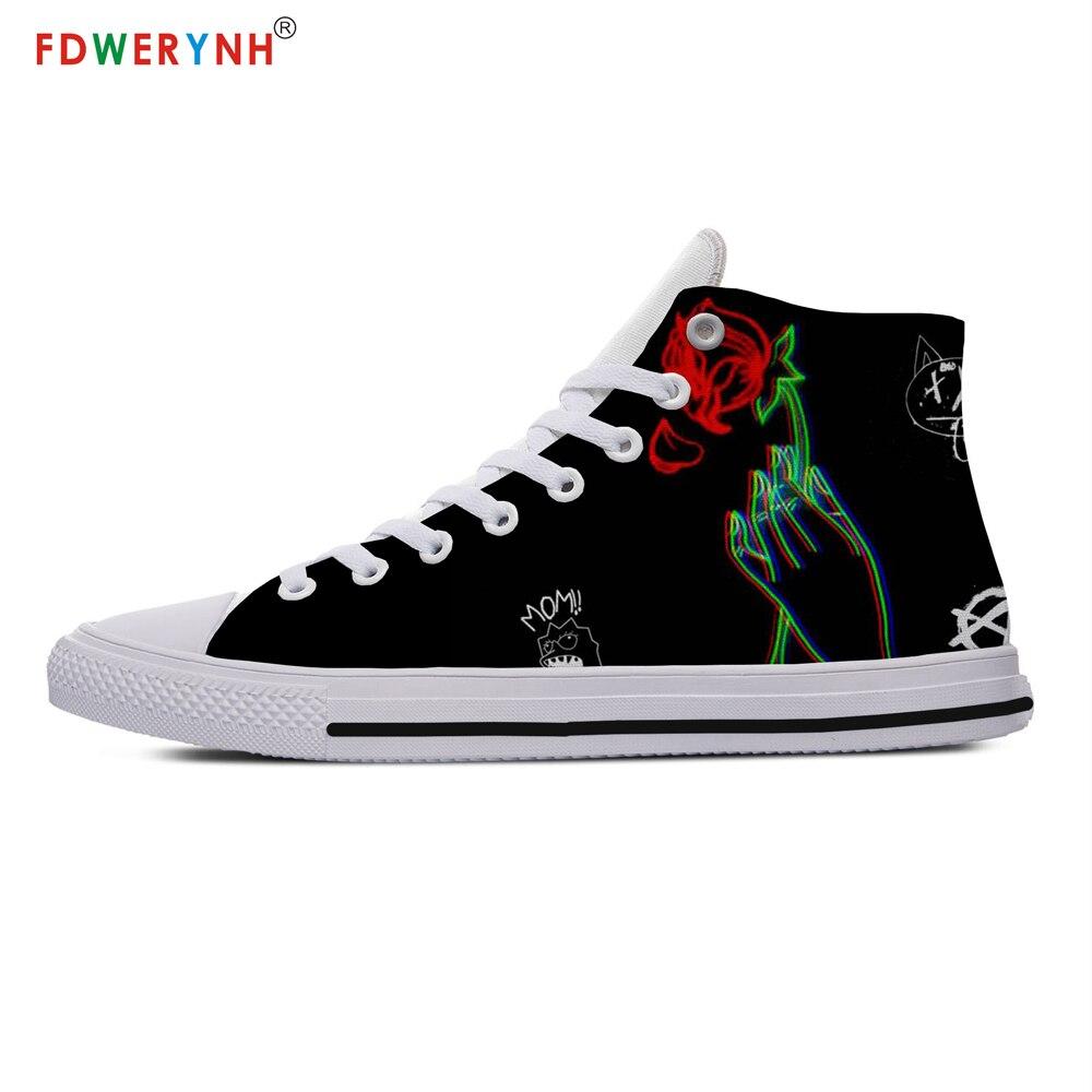 Lil Peep Leisure Rap Shoes