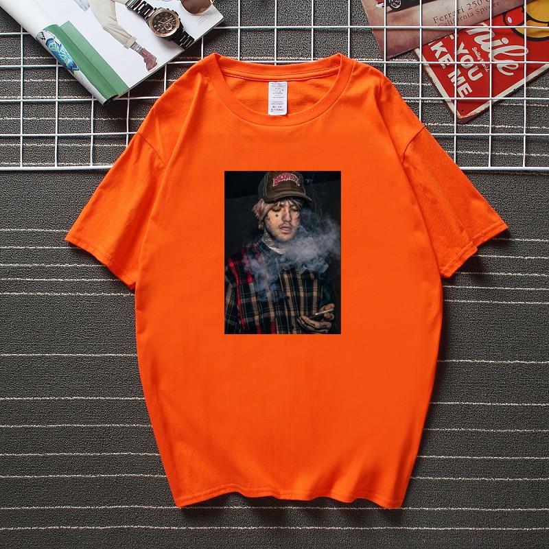 Lil Peep Smoke Men Woman T-Shirt