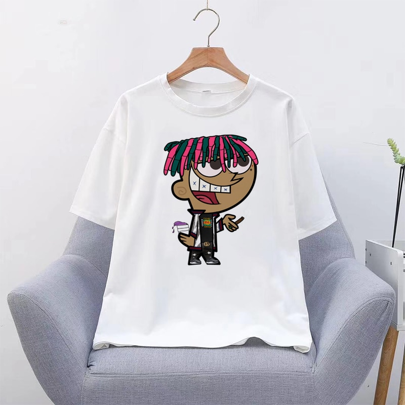 LIL PEEP Korean Graphic T-shirt
