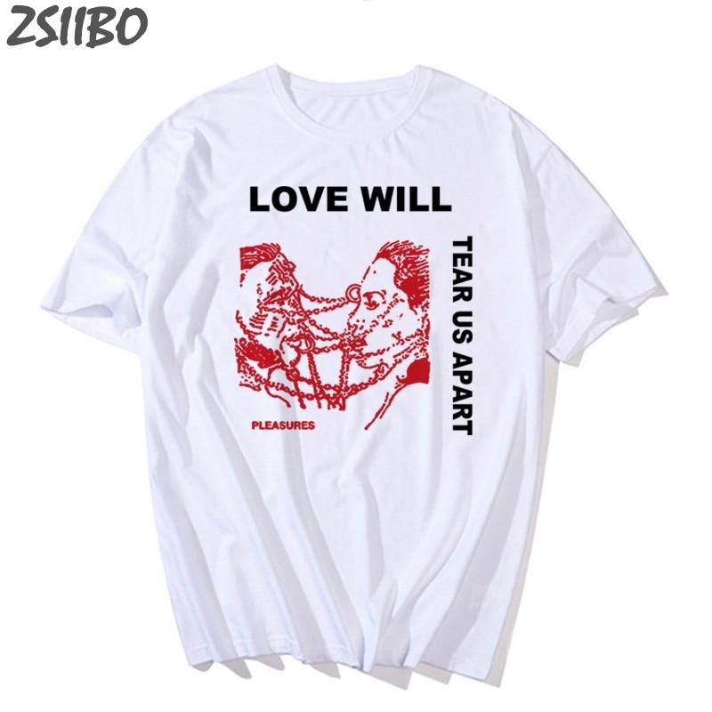 """Lil Peep """"Love Will Tear Us Apart"""" T shirt"""