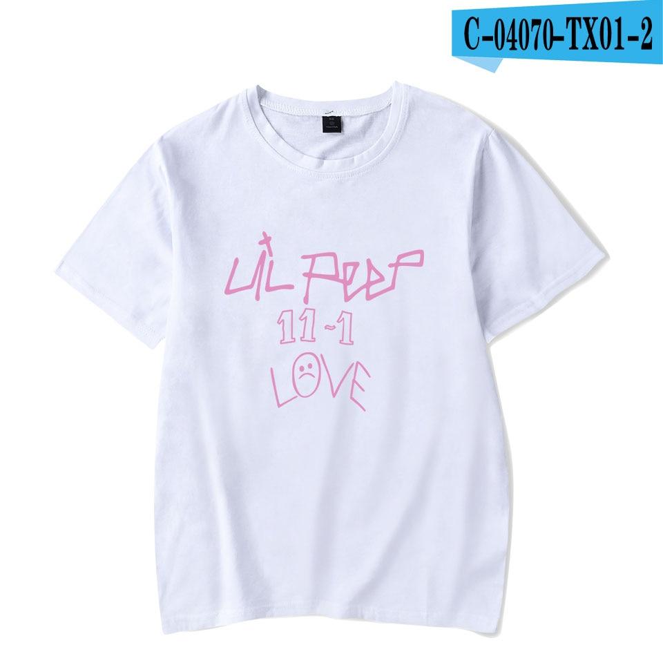 Lil peep Print Hot Sale T-shirts