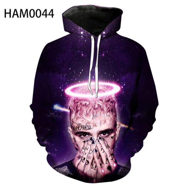 Lil Peep 3D Sweatshirt Hoodies