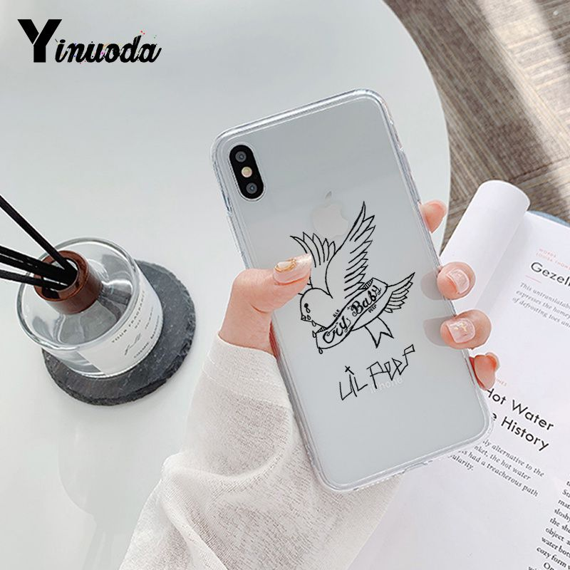 Lil Peep Hellboy Love Phone Case for iPhone