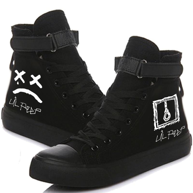 Lil Peep Printed Sneakers