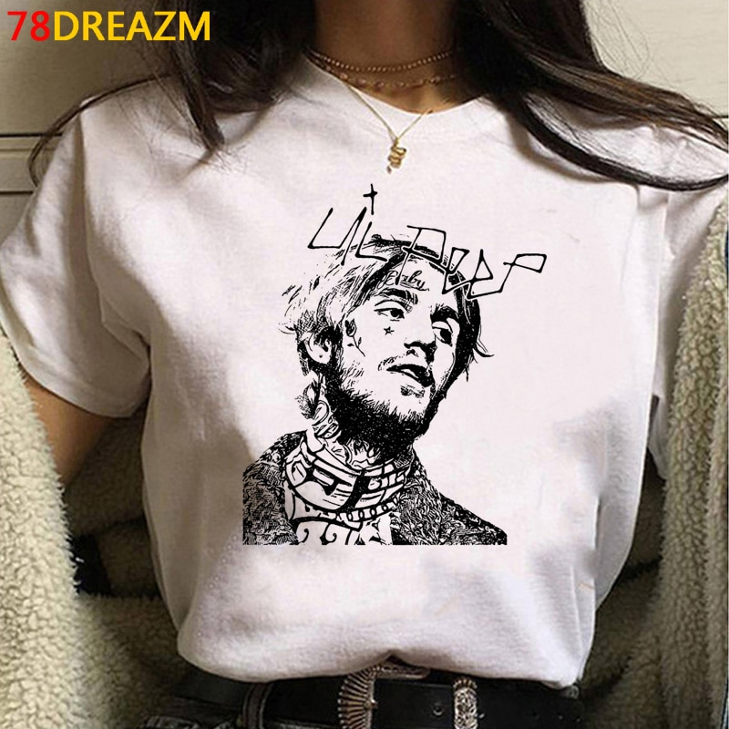 Lil Peep graphic t shirt