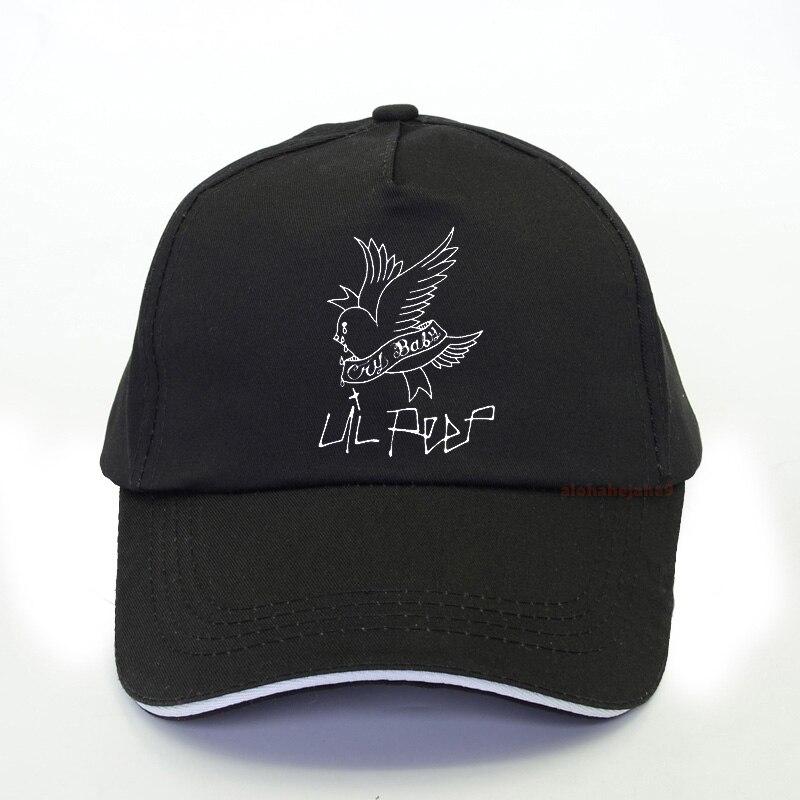 Lil Peep Printed 100% Cotton Baseball Cap