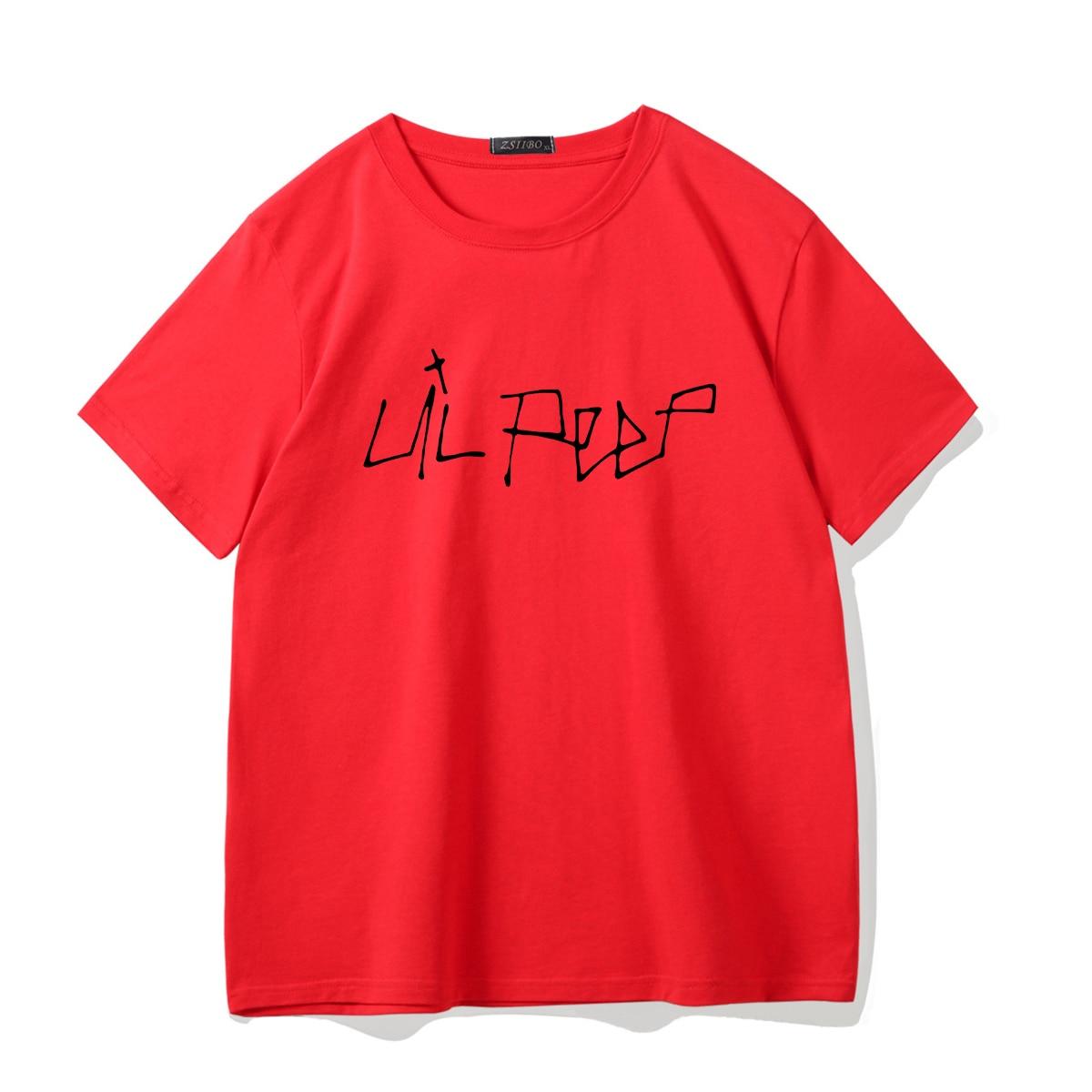 Lil Peep Printed Hip Hop T-shirt