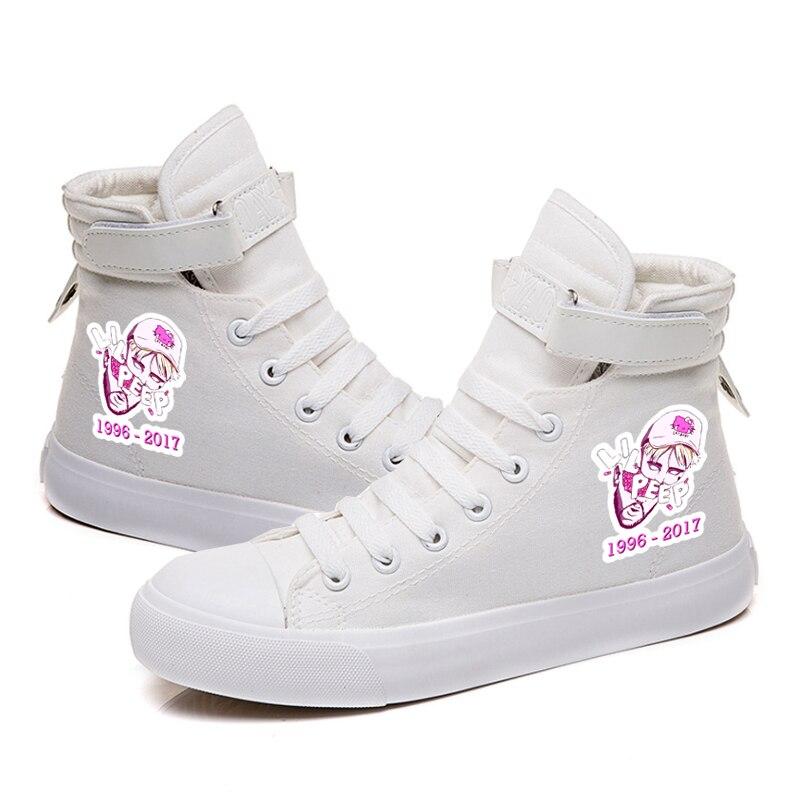 Lil Peep Student Walking Footwear Shoes
