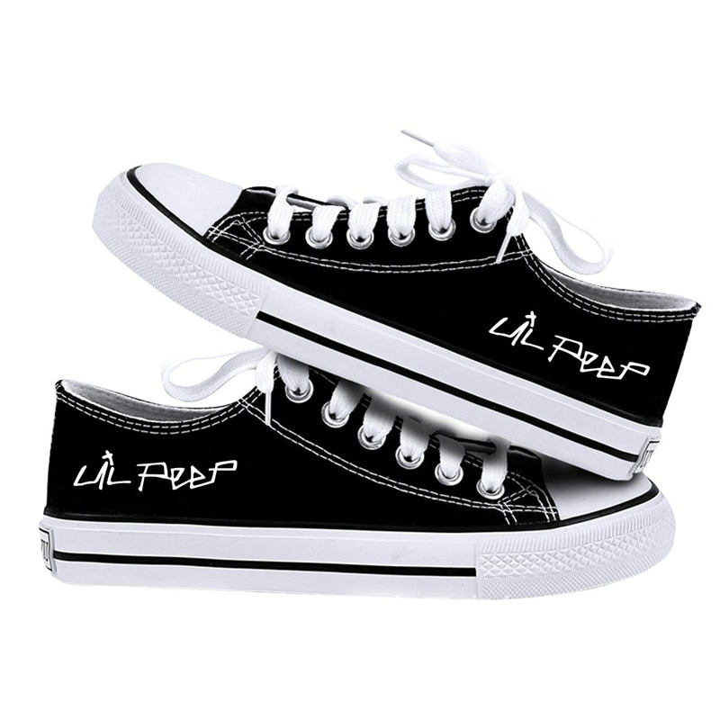 Lil peep Cosplay Canvas Shoes
