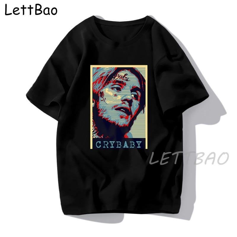 Lil Peep Harajuku Black T Shirt