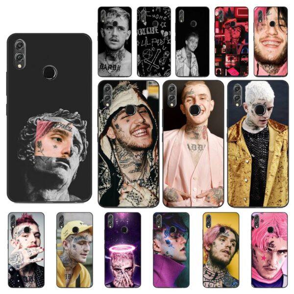 Lil Peep black Phone Case Huawei