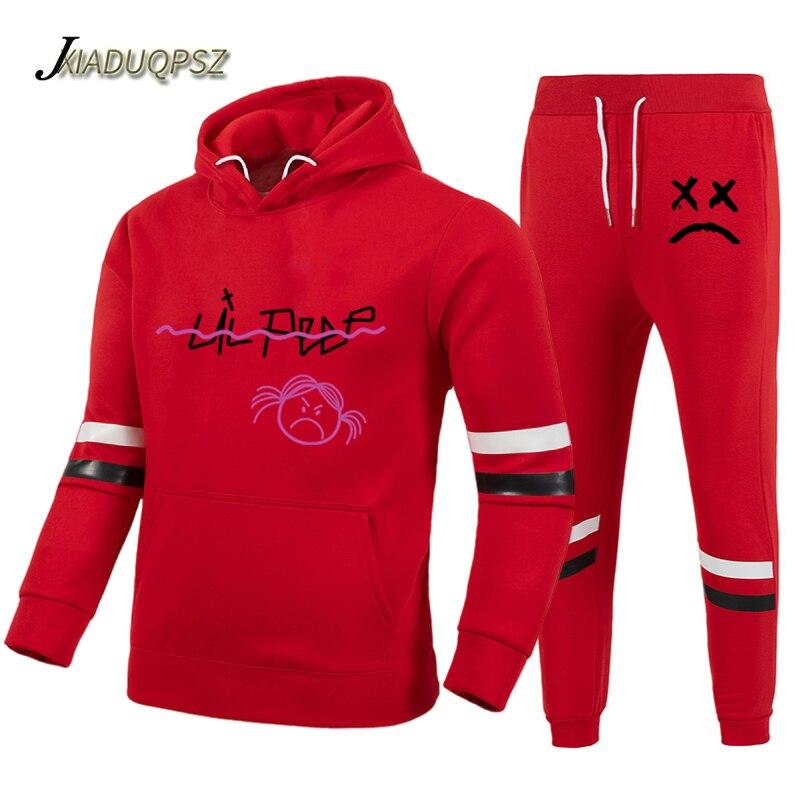 Lil Peep Sweatshirt + Sweatpants Suits