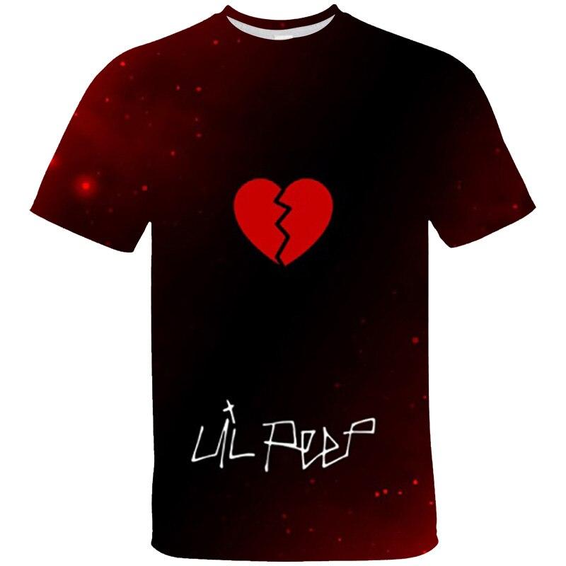 Lil Peep 3D Cry Baby Tshirt