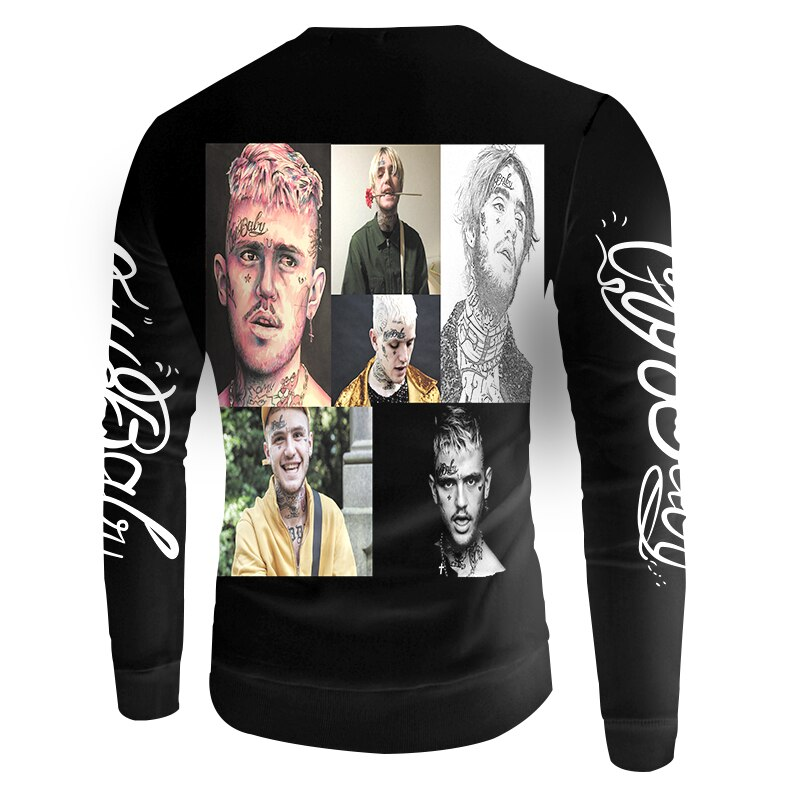 Lil Peep 3D Printed Sweatshirts