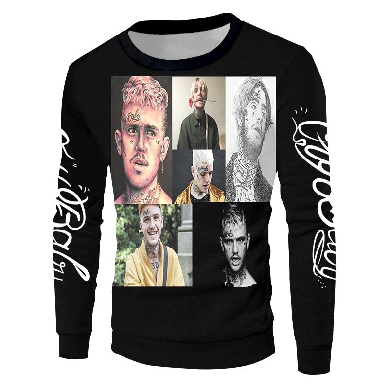 Lil Peep New 3D Printed Sweatshirts
