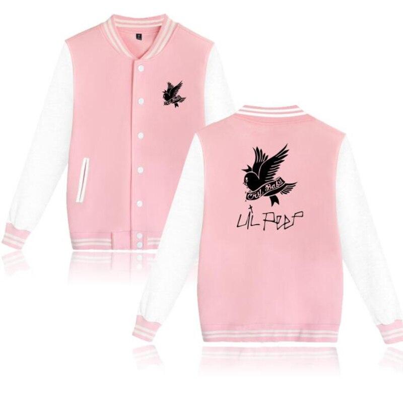Lil Peep Love Baseball Uniform Jacket Coat