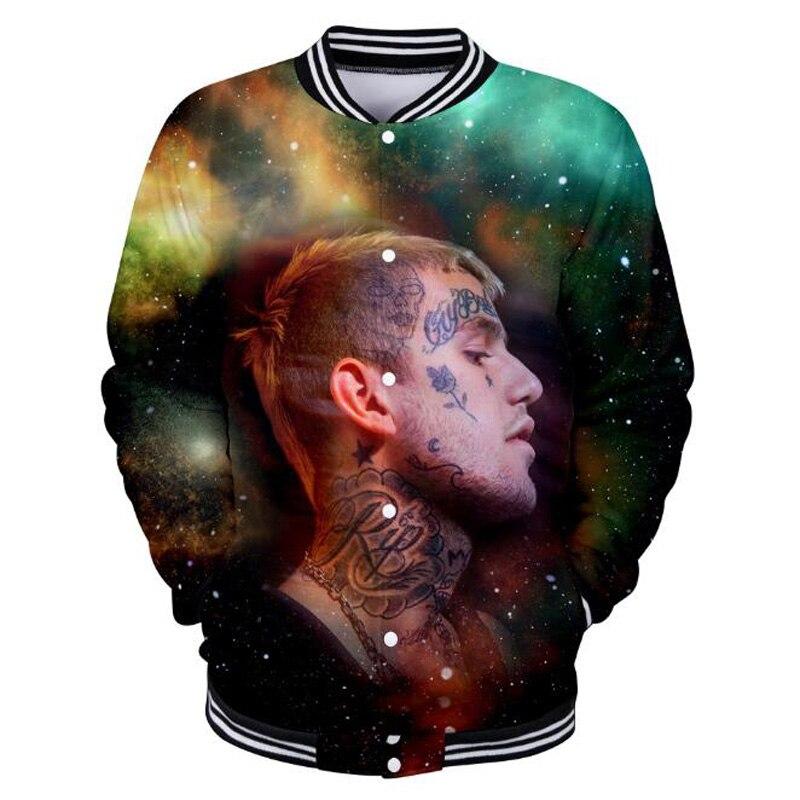 Lil Peep Hellboy 3D Print Jacket Coat
