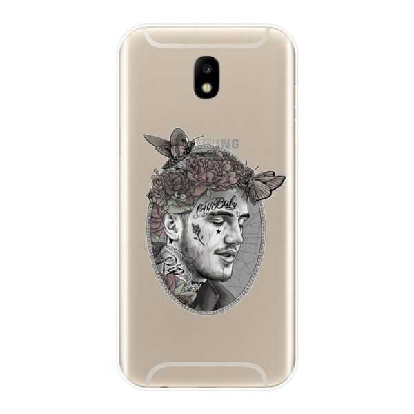Lil Peep Back Cover For Samsung Galaxy