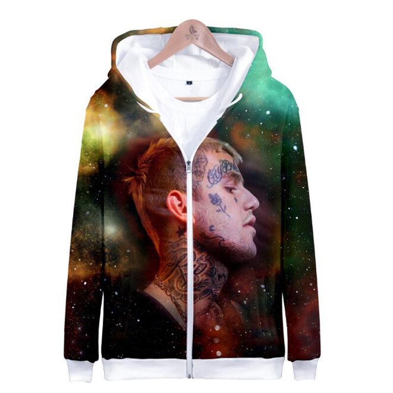 Lil Peep 3D Print Hoodies Jacket