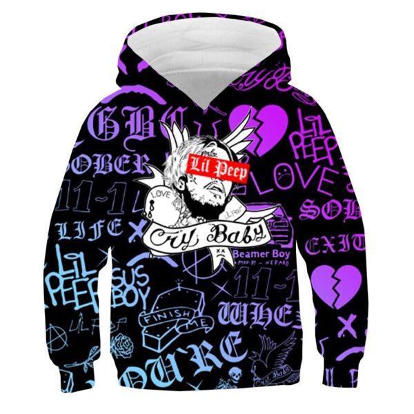 Lil Peep Cry Baby Sweatshirt Hoodie