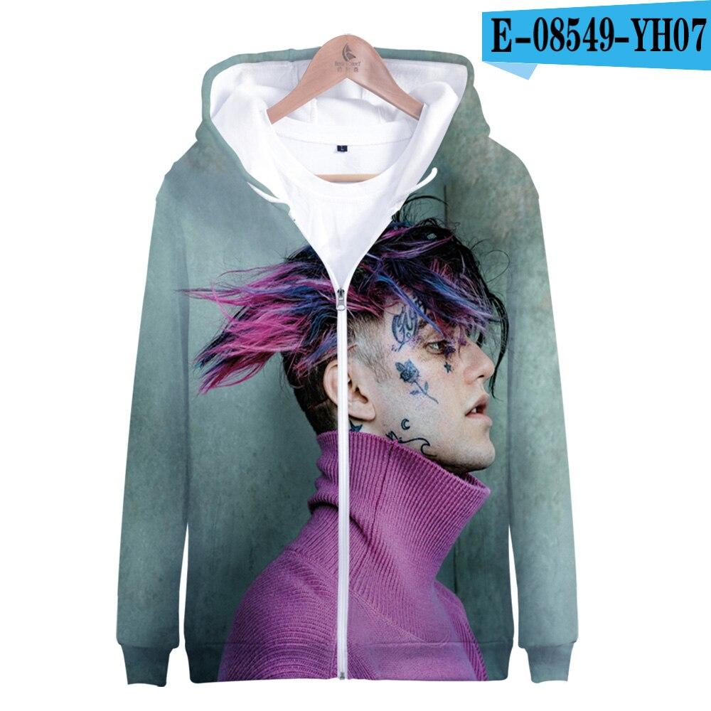 Lil Peep Zipper Sweatshirts Hoodies Jacket