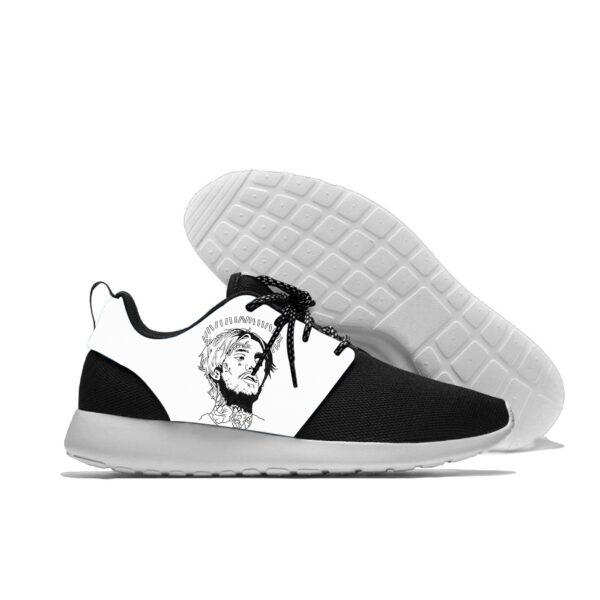 Lil Peep Images Print Running Shoes