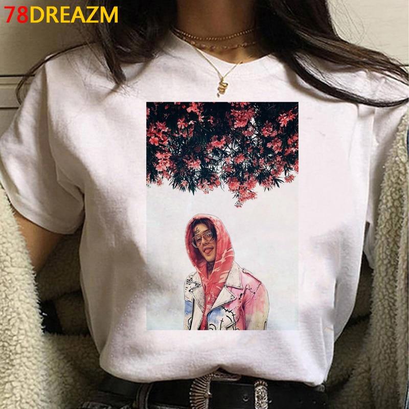 Lil Peep Summer Cartoon T-shirt