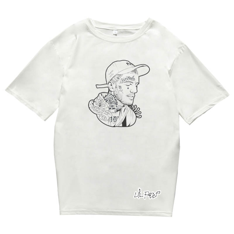 Lil Peep T-shirt For Men, Women Boy