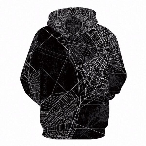 Lil Peep Scary 3D Spider Sweatshirt Hoodies