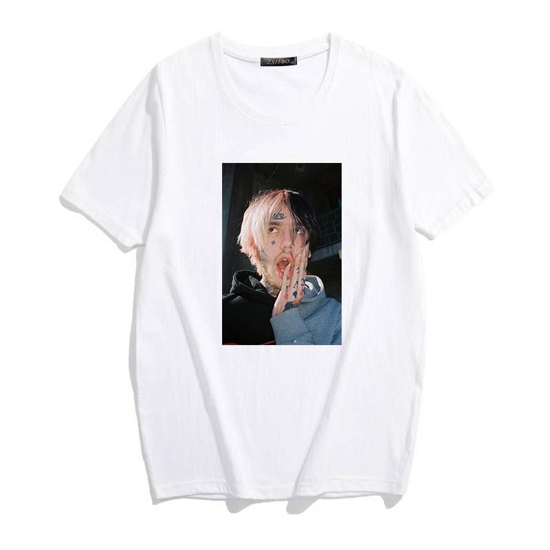 Lil Peep Print Harajuku Hip-Hop T-Shirt