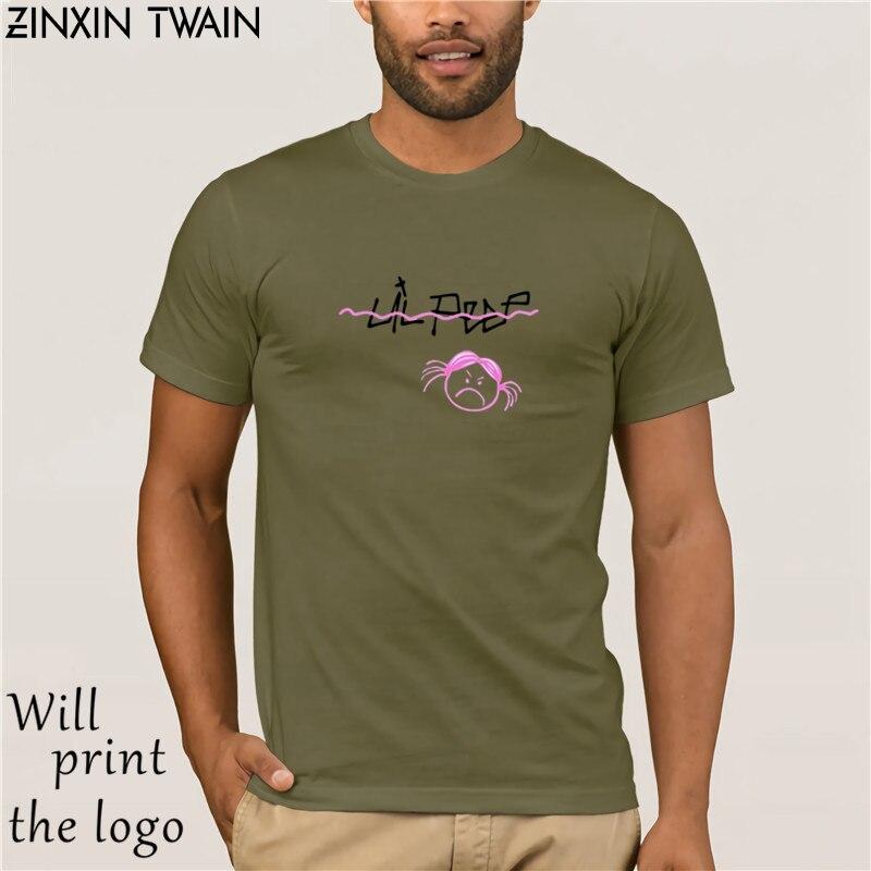 Lil Peep Sad Face T-shirt