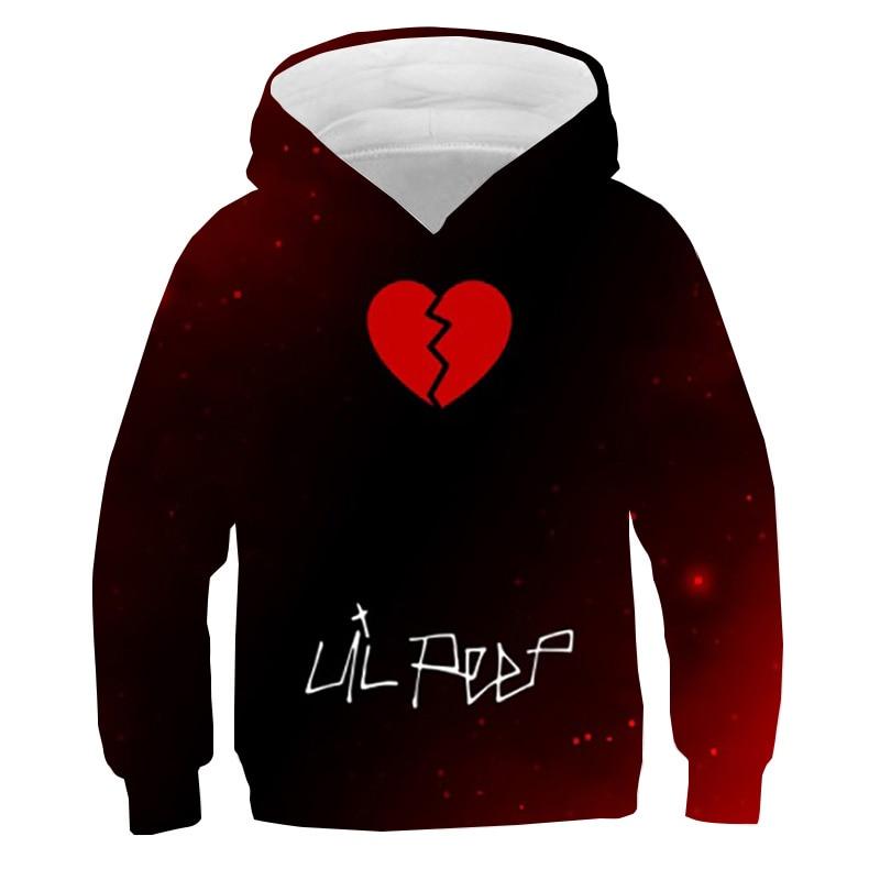Lil Peep Heart Sweatshirt Hoodie