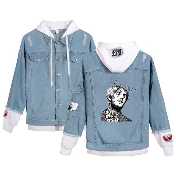 Lil Peep Jeans Hoodies Jacket