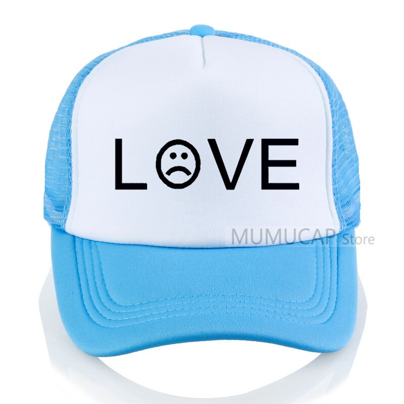Lil Peep Love Baseball Caps